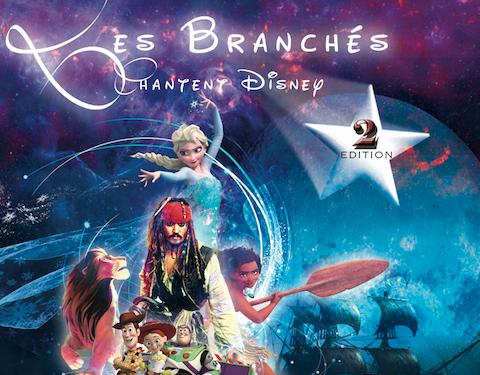 Les Branchés chantent Disney 2 à Antibes - Les Branchés