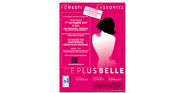 "Projection de ""De plus belle""  - EUROPA DONNA FRANCE"