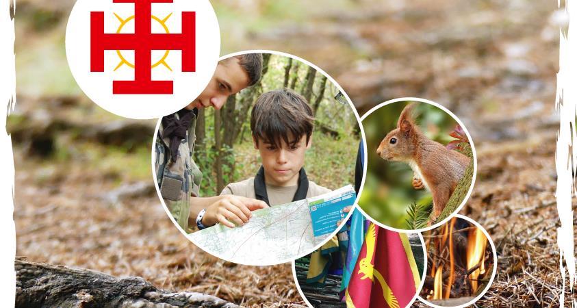 Camp nature - Compagnie de la Sainte-Croix