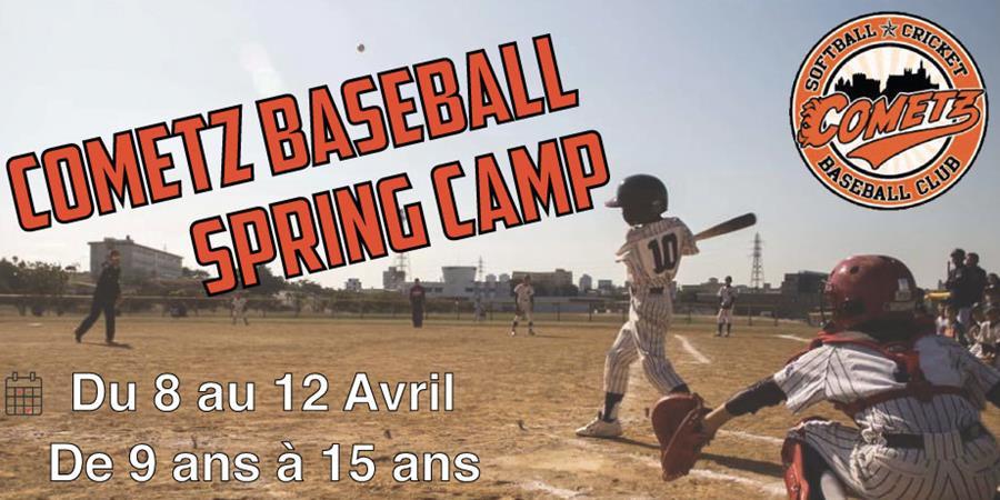 Cometz Spring Baseball Camp - Cometz baseball et softball club