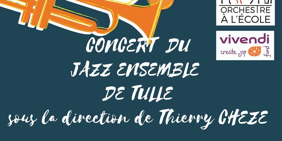 CONCERT JAZZ ENSEMBLE DE TULLE - ecole de musique du pays d'allassac