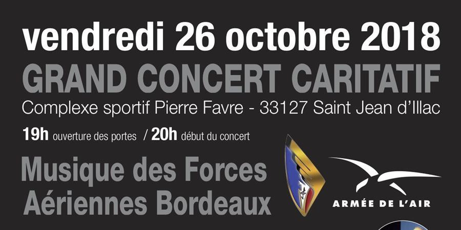 Grand concert caritatif dans le cadre du centenaire de la 1ère guerre mondiale - Association Pierre Favre