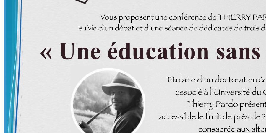 """Liberté & éducation """"Une éducation sans école"""" - School-of-trust Retrouver Confiance en Soi pour Réussir"""