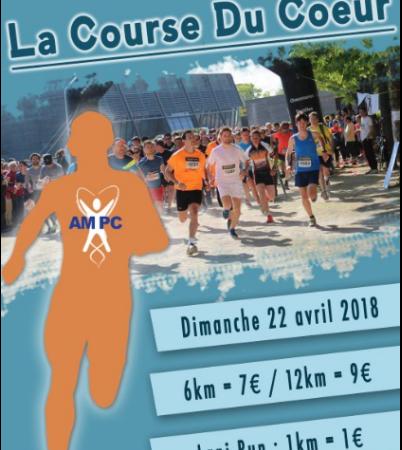 Course du Coeur - 22 avril 2018 -  inscriptions sur place des 8h30  - Association des Médecins et Pharmaciens du Coeur