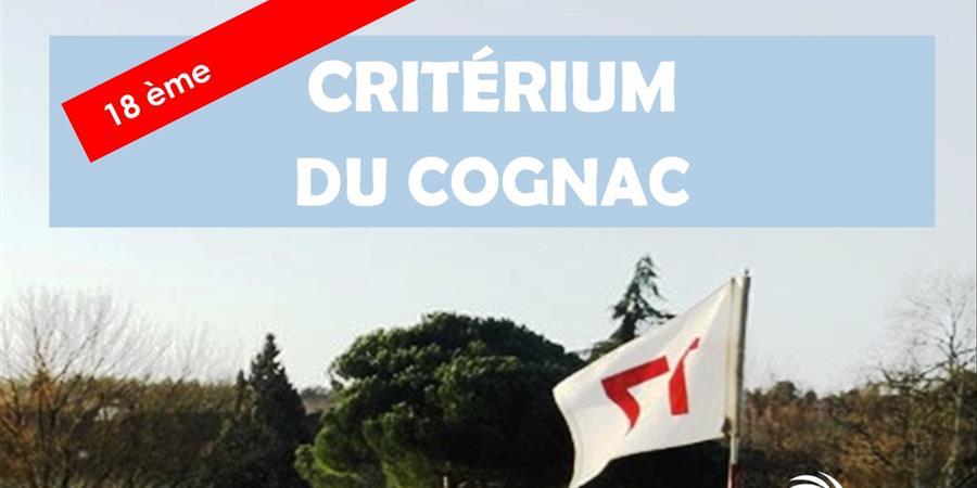 19ème CRITERIUM DU COGNAC - Edition 2019 - Association du Golf du Cognac