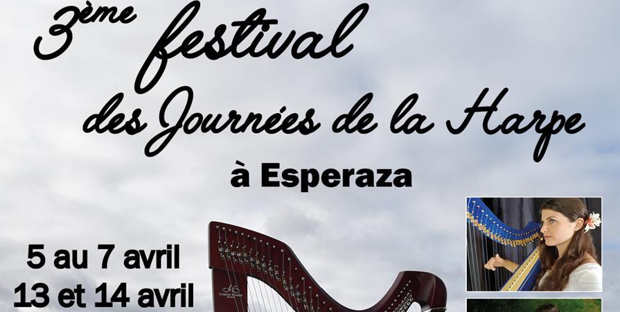 3ème  festival des journées de la harpe à Espéraza  - Nashuar terre vivante