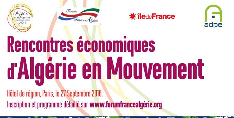 Rencontres économiques Algérie en Mouvement - Forum France-Algérie