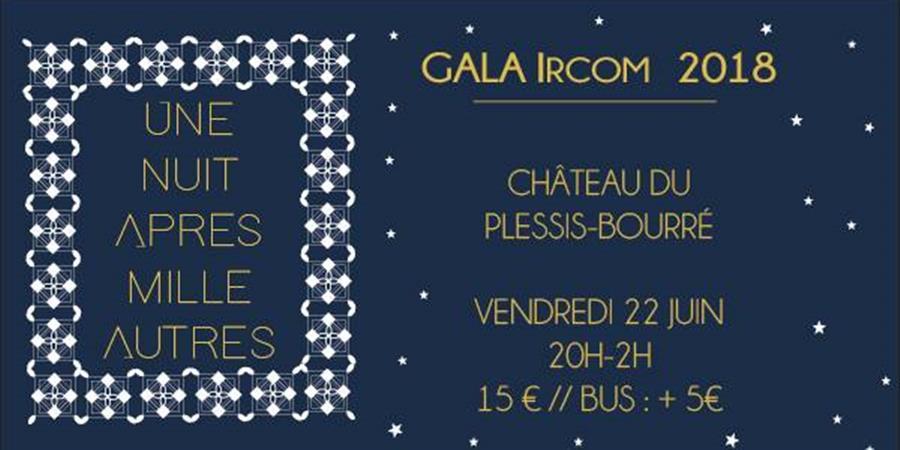 Gala Ircom 2018 : Une nuit après mille autres - BDE Ircom