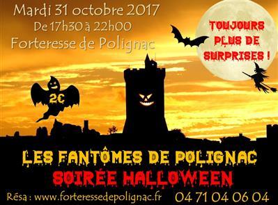 Les Fantômes de Polignac // Soirée Halloween - Forteresse Polignac Patrimoine