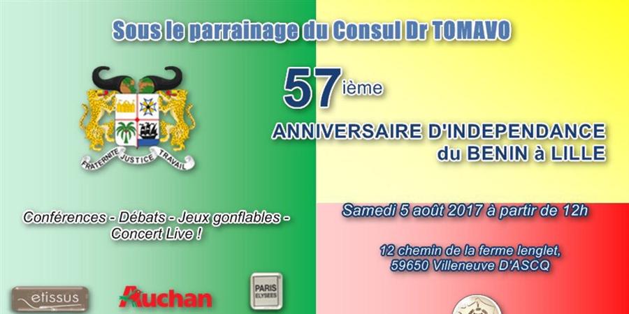 Indépendance du Bénin à Lille - ARBF