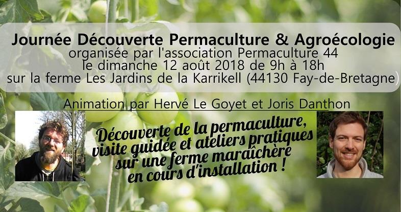 Journée Découverte Permaculture & Agroécologie - Permaculture 44