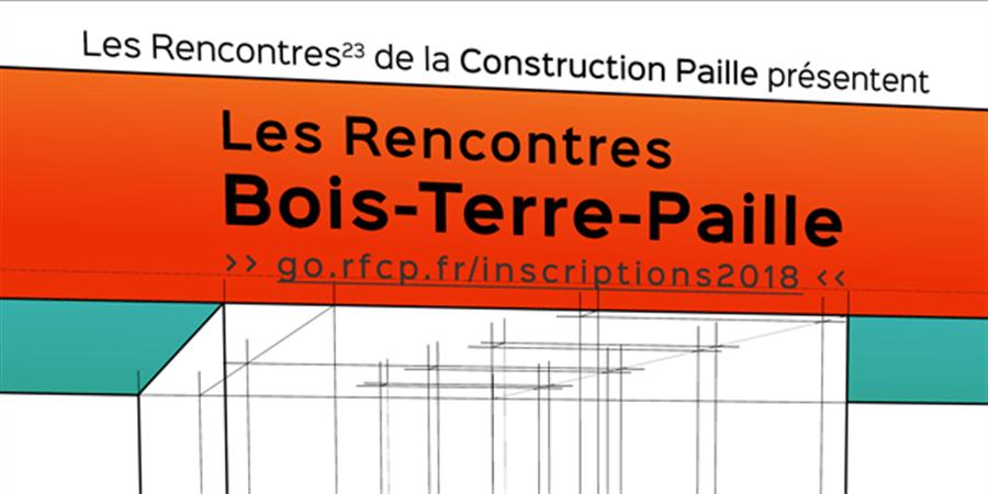 Rencontres nationales de la Construction Paille 2018 - RFCP - Les Compaillons