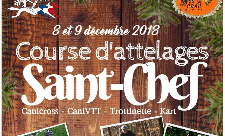 Course & randonnée de Saint-Chef - CRAC - Club Rhône Alpin de Canicross