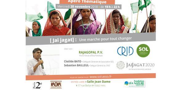 Jai Jagat : une marche pour tout changer - SOL