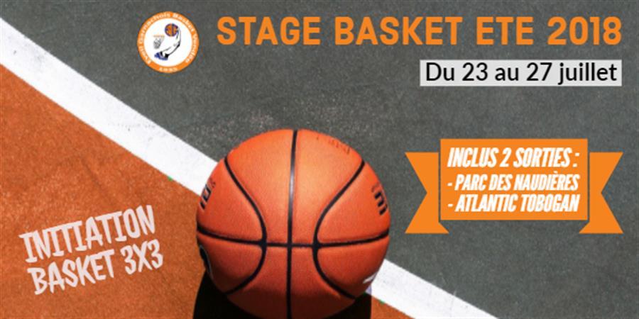 Stage de basket été 2018 - Eveil Garnachois Basket Vendée