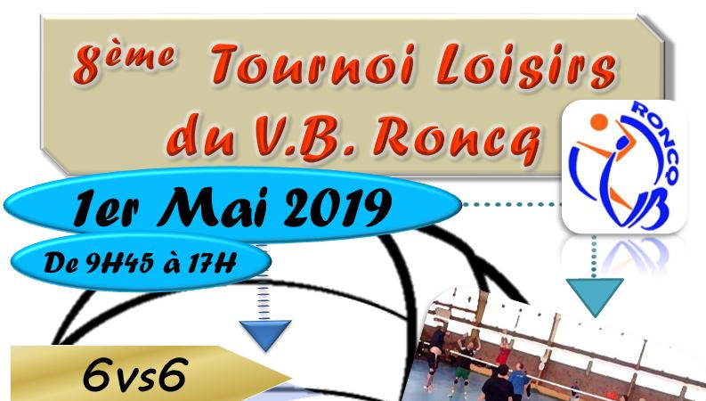 8ème Edition Tournoi Loisirs - Volley Ball de Roncq