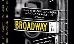 "DVD du Spectacle de Juin 2018 ""Broadway"" - Association Danse Classique"