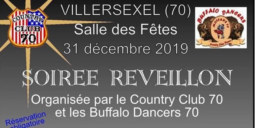 Réveillon country à Villersexel (70) - COUNTRY CLUB 70