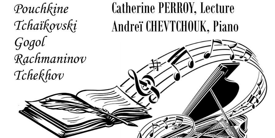 """Promenade Russe...Voyage Musical et Littéraire (3 février 2019 à 17h00) - Association des Russophones """"Bouledeneige"""""""
