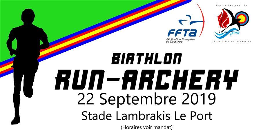 Run Archerie  - Comité Régional de Tir à l'Arc de la Réunion
