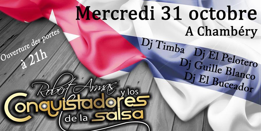 Los Conquistadores de la Salsa à Chambéry - Association Musica Cubana