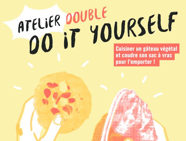 Atelier double : cuisine et couture - Zéro Déchet Lyon