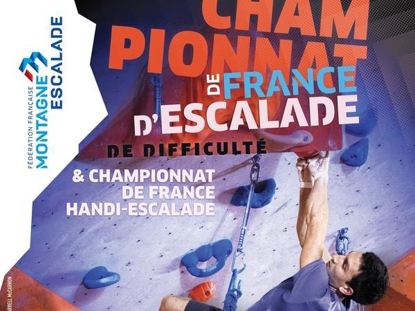 *CHAMPIONNAT DE FRANCE ESCALADE et HANDI-ESCALADE* - CLUB VERTIGE