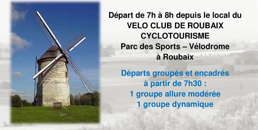 BRM 200 A travers la Flandre - VELO CLUB DE ROUBAIX Cyclotourisme