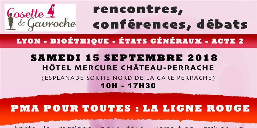 PMA pour toutes : La ligne rouge - Cosette et Gavroche