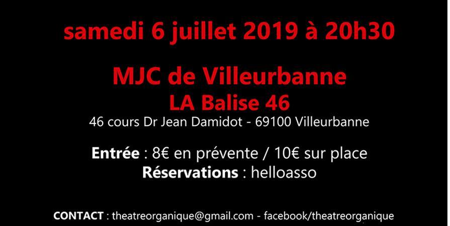 Chicago - Villeurbanne (last one) - Théâtre Organique