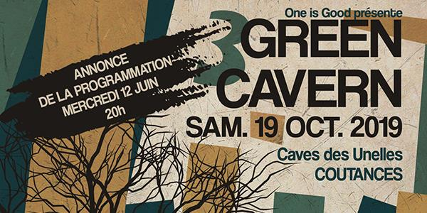 GREEN CAVERN 3 - One is good Records
