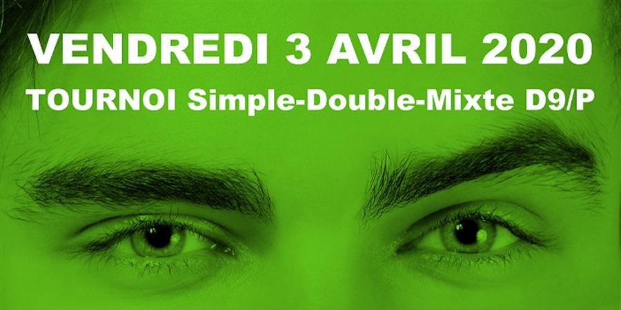 Tournoi D9/P de l'AS Vezin du Vendredi 3 avril 2020 - AS Vezin Badminton