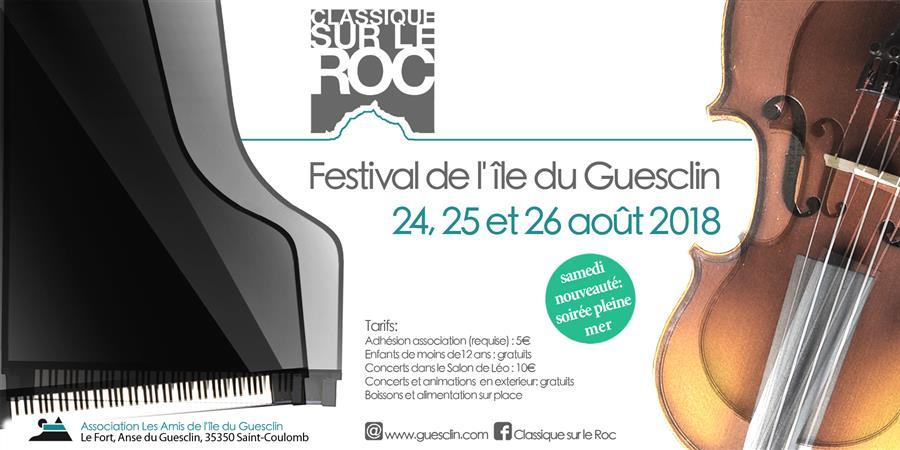 Billetterie Festival Classique sur le Roc 2018 - Les Amis de L'ile du Guesclin