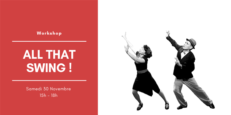 Workshop All That Swing !  - Rythmes et Cie