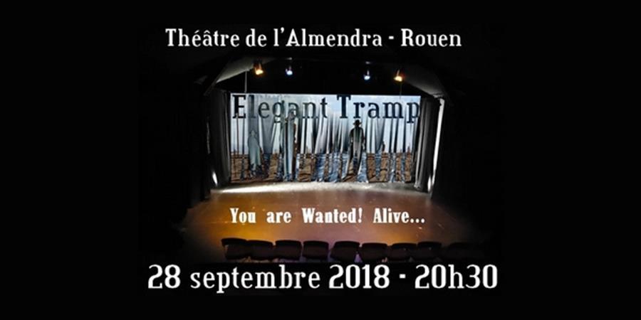 Elegant Tramp en concert au Théâtre de l'Almendra le vendredi 28/09 - TRAMP Production