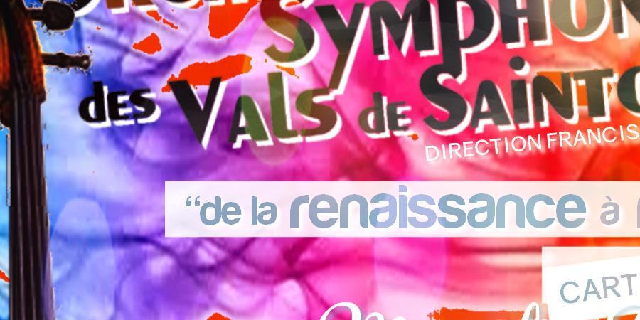 Concert ANNEPONT * M.Poulbot A.Vivaldi JS.Bach - Orchestre Symphonique des Vals de Saintonge
