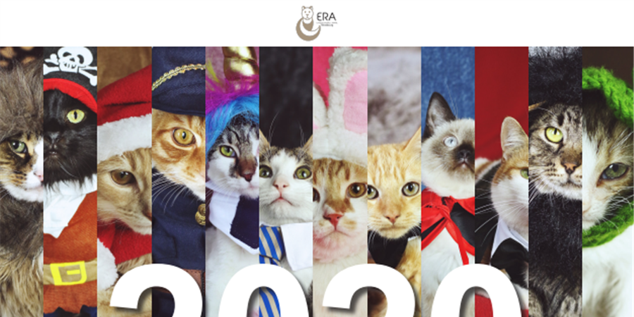 Calendrier ERA 2020 - ERA Ethique & Respect Animal