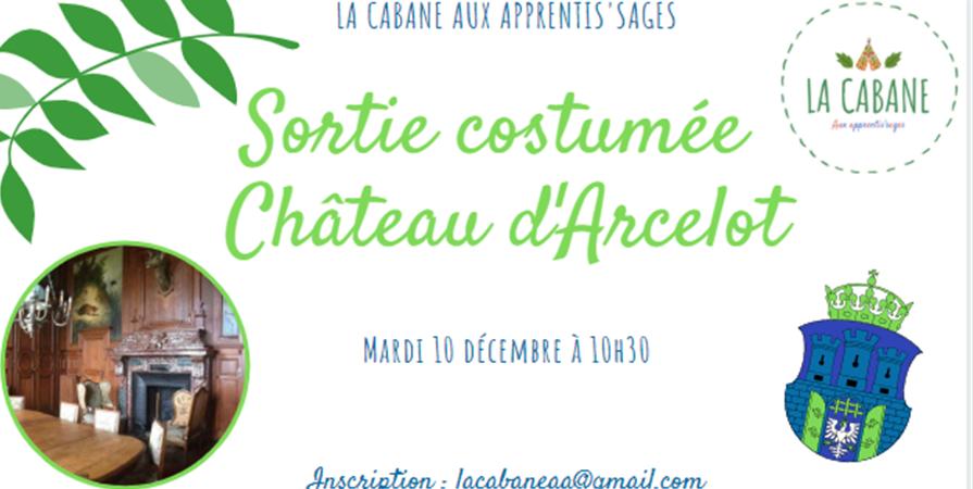 Sortie château d'Arcelot - La Cabane aux apprentis'sages Dijon