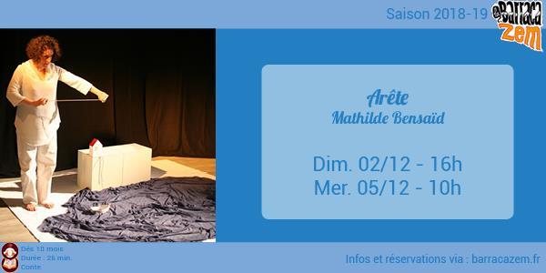 Mercredi - Arête - Mathilde Bensaïd - Brasil Afro Funk