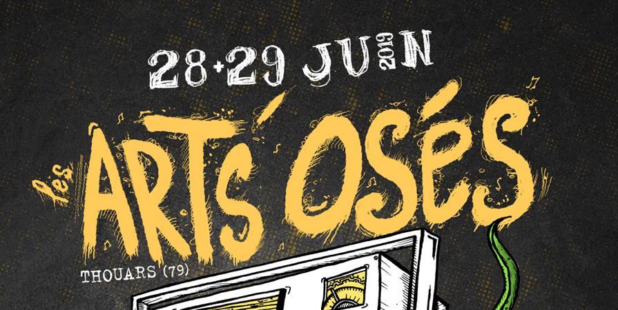Festival Les Arts'Osés #11 - Association Centre Socio-Culturel du Thouarsais