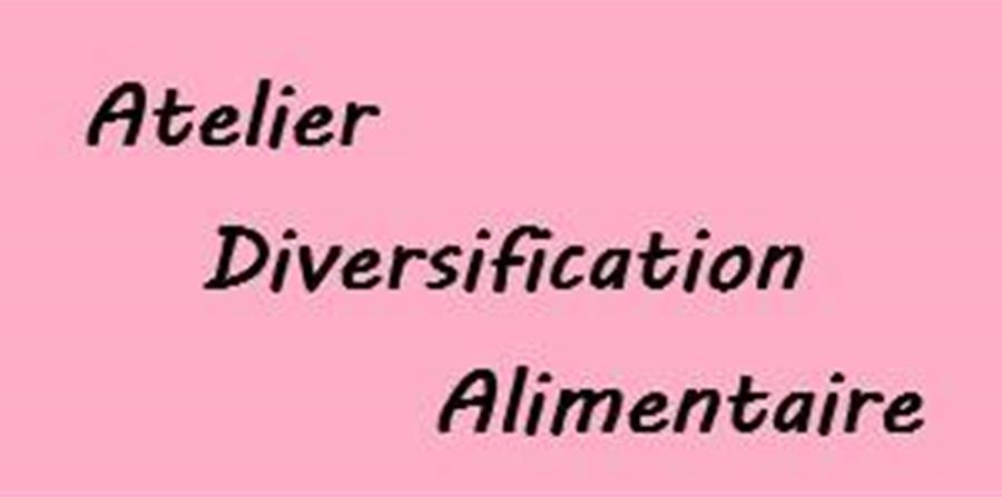 Atelier Diversification Alimentaire - 18/02/2020 - Manala
