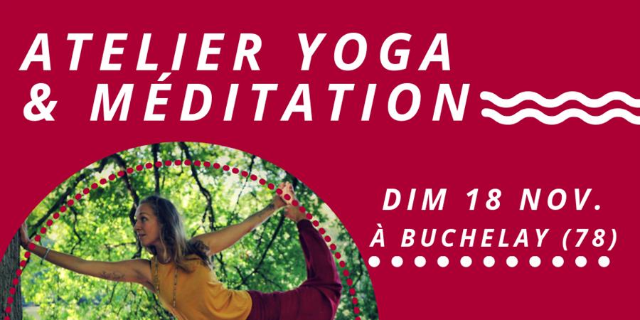 DIM 18 NOV  - ATELIER YOGA & MEDITATION  - Les Chemins de Tara