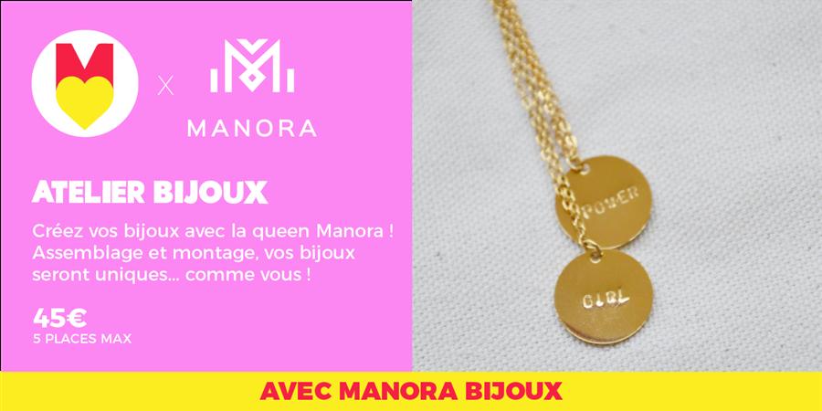 ATELIER BIJOUX - @manorabijoux @GIRLS POWER STORE 18/01/2020 - Les Premières Sud
