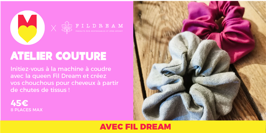 ATELIER COUTURE - @fildream @GIRLS POWER STORE 22/01/2020 - Les Premières Sud