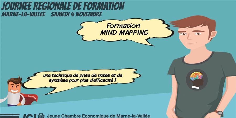 Formation MIND-MAPPING - Jeune Chambre Economique de Marne La Vallée