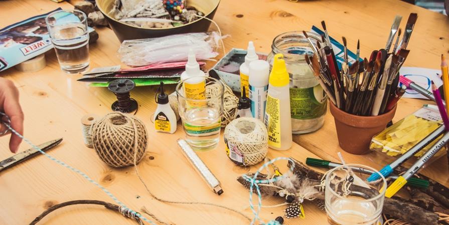 Atelier de création de ton bouclier en carton  - Salon Saint-Maur en Poche