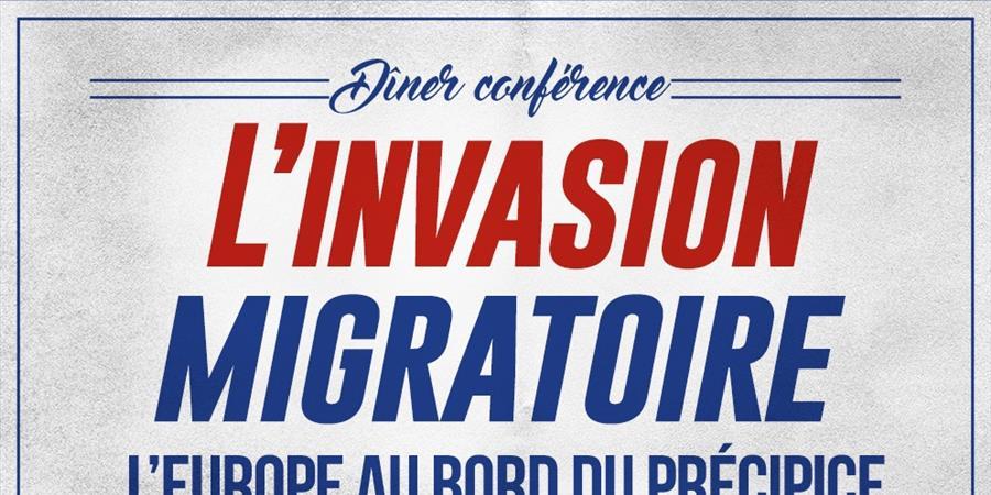 Dîner/Conférence sur l'immigration - Cercle Anthinéa