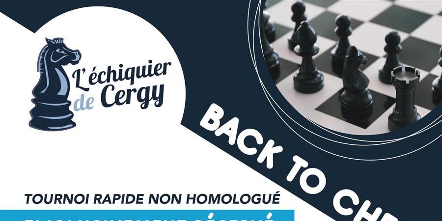 Back to chess - Échiquier de Cergy