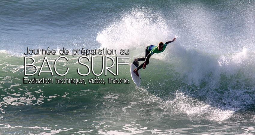 Journées préparatoire au Bac EPS Surf - Comité Surf Gironde