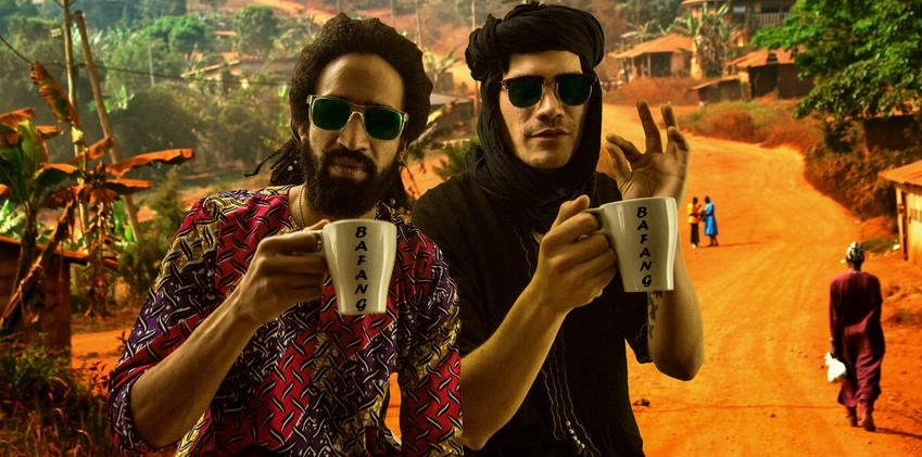 Bafang, le duo Afro->rock, au Bisik ! - ACTER